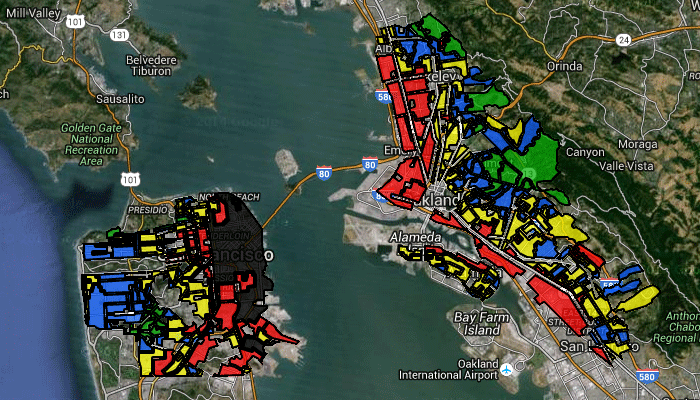 Redlining California
